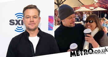 Matt Damon hangs out with locals in tiny Australian country town - Metro.co.uk