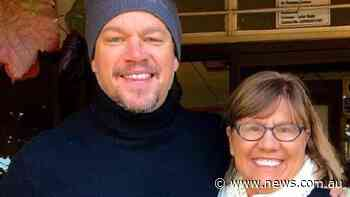 Matt Damon stops for coffee in small NSW town Jugiong - NEWS.com.au