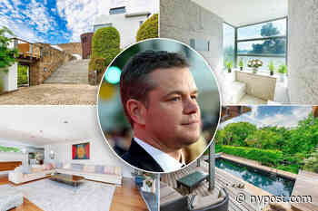 Inside Matt Damon's $4.2M Irish 'fairy tale' lockdown mansion - New York Post