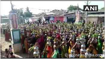 Gujarat: Women flock religious procession held to `eradicate` coronavirus, 23 held