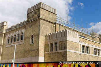 Brighton Dome Corn Exchange: restored facade unveiled