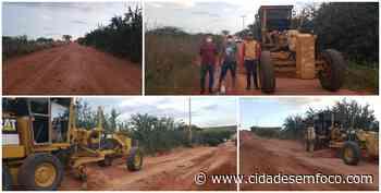 Gestão do prefeito GD inicia recuperação de estradas rurais em Jacobina do Piauí - Cidades em Foco