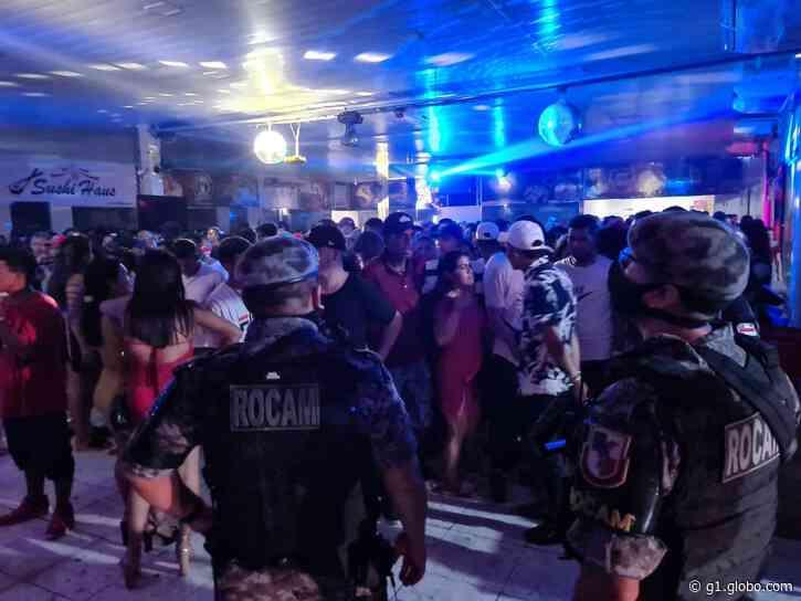 Em meio à pandemia, festa com 500 pessoas é encerrada em Coari, no AM - G1
