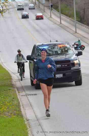 Owen Sound woman completes marathon for mental health - Owen Sound Sun Times