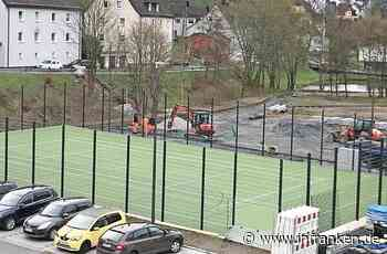 Fertigstellung im Spätsommer: Freizeitanlage Tettau nimmt Gestalt an - inFranken.de