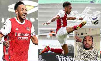 Arsenal's Pierre-Emerick Aubameyang opens up on malaria battle ahead of crunch Villarreal clash