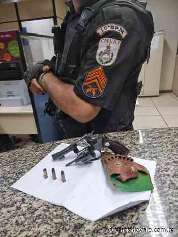 PM apreende revólver e munições em Paty do Alferes - Diario do Vale