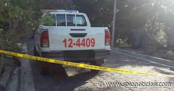 Nacionales Asesinan a menor que hurtaba objetos en Guatajiagua, Morazán - Solo Noticias