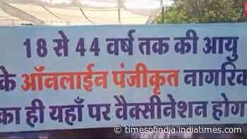 Madhya Pradesh: Covid-19 vaccination drive for people between 18-44 years begins
