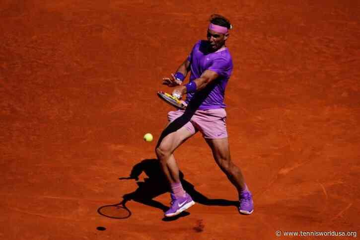 ATP Madrid: Rafael Nadal eases past birthday boy Carlos Alcaraz