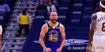 Steph Curry fait danser les Pels à New Orleans : 41 ! - Basket Infos