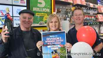 A Morwell man's long-held dream of owning his own sports stadium has now become a reality after winning division one in the weekend's TattsLotto draw. - Latrobe Valley Express