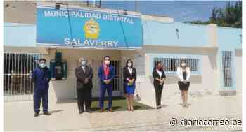 Corte Superior de Justicia de La Libertad y municipalidad de Salaverry lanzan botón de pánico - Diario Correo