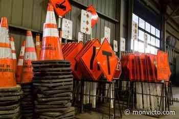 Des réparations sur les routes à Saint-Louis-de-Blandford - Mon Victo