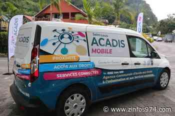 Saint-Louis : L'ACADIS Mobile pour rapprocher les plus isolés du numérique et de leurs droits - ZINFOS974