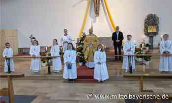 Sieben Kinder empfingen zum ersten Mal Christus in Gestalt des Brotes - Mittelbayerische