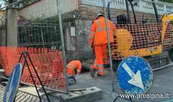 Legnano, auto contro un muro: tranciato tubo del gas - La Prealpina