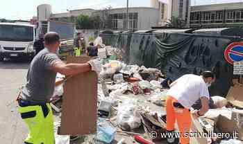 Agrigento, ripulita la discarica creata dinnanzi l'isola ecologica di piazza Ugo La Malfa - Scrivo Libero