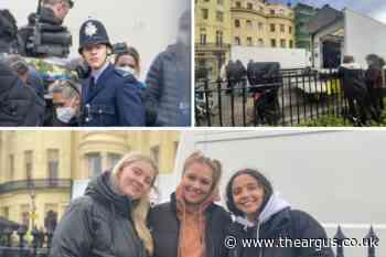 Argus reporter Olivia on seeing Harry Styles in Brighton