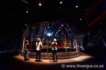 Halo at Brighton Festival: free artwork recreates the universe after Big Bang