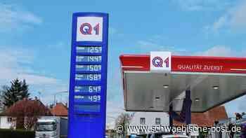 Zapfhahn frei an der Q-1-Tankstelle   Bopfingen - Schwäbische Post