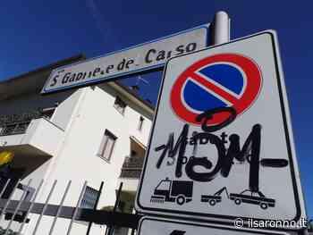 Saronno, in arrivo i nuovi cartelli dei divieti di sosta temporanei per la pulizia strade - ilSaronno