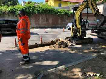 Saronno, perdita idrica nel parcheggio del comune: già aperto il cantiere - ilSaronno