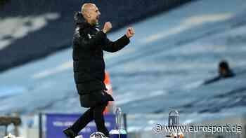 Manchester City erstmals im Champions-League-Finale: Pep Guardiola dankt den Klub-Legenden - Eurosport DE