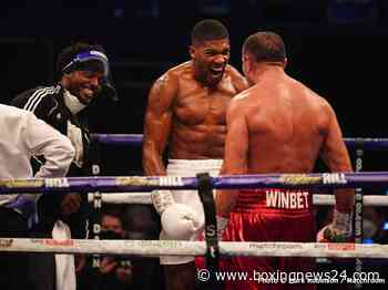 Anthony Joshua: I'm everything Tyson Fury wishes he could be