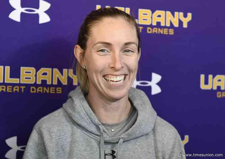 UAlbany lacrosse's Katie Rowan Thomson wins America East Coach of Year
