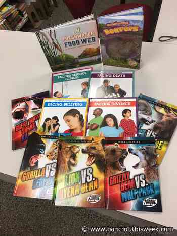 Lions reading books | Bancroft this Week - Bancroft This Week