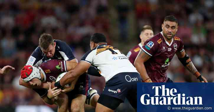Reds should beat Brumbies in Super Rugby AU final – unless they drop the ball | Bret Harris