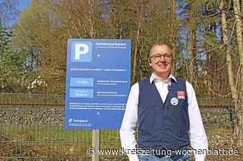 Holm-Seppensen: Parkdauererfassung anhand des Kennzeichens: Kamera statt Parkscheibe auf dem REWE-Parkplatz - Kreiszeitung Wochenblatt