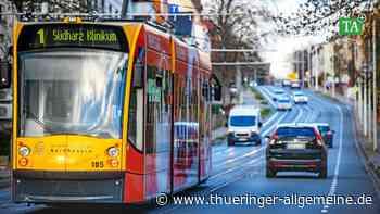 Nordhäuser Straßenbahn fährt künftig seltener - Thüringer Allgemeine