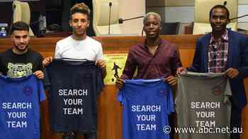 Two African refugees on a global mission to stop football trafficking
