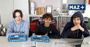 Zeuthen: Jugend-Forscht-Projekt zu Umwelt und Verkehr - Märkische Allgemeine Zeitung