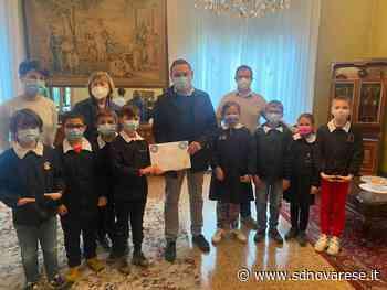 Novara: il sindaco Canelli in visita alla scuola Sacro Cuore - L'azione - Novara