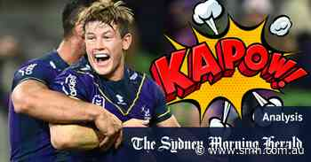 Kapow! Biff! Why Souths can't stop Melbourne's Batman and Robin