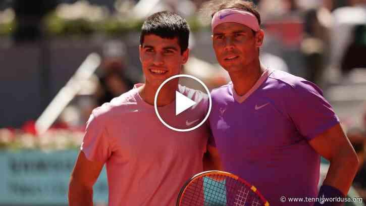 ATP Madrid 2021: Rafael Nadal vs Alcaraz's HIGHLIGHTS AND SHOTS