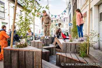 Mobiele parkjes om op parkeerplaatsen te zetten reizen binnenkort door Moorkenswijk