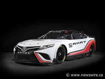 Toyota Reveals TRD Camry For 2022 NASCAR Cup Series