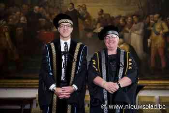 """Rik Van de Walle herkozen als rector: """"Geeft moed en goesting om goede rector te zijn"""""""