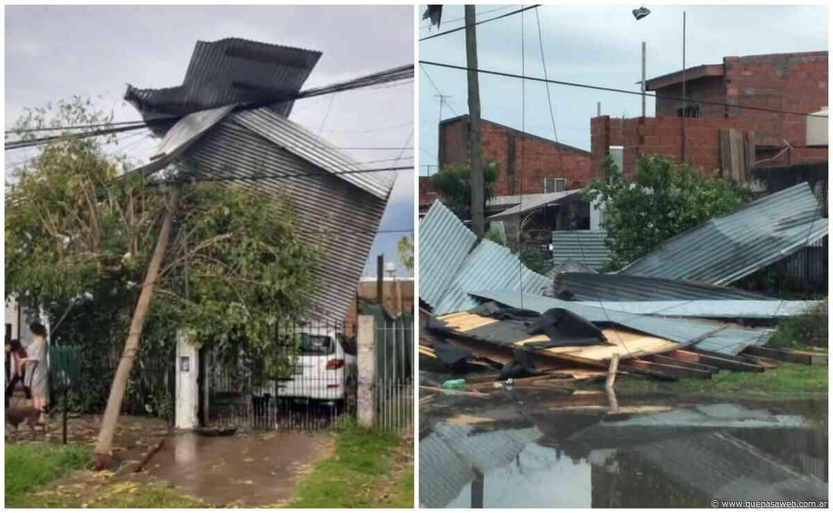 Más de 50 familias afectadas por el temporal en Tigre - Que Pasa Web