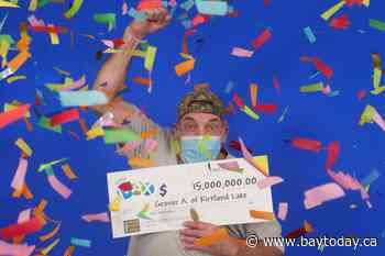 Kirkland Lake man wins $15 million in LOTTO MAX
