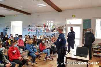 Economie - A Cogolin, la police municipale sensibilise les écoliers et collégiens - LES PETITES AFFICHES