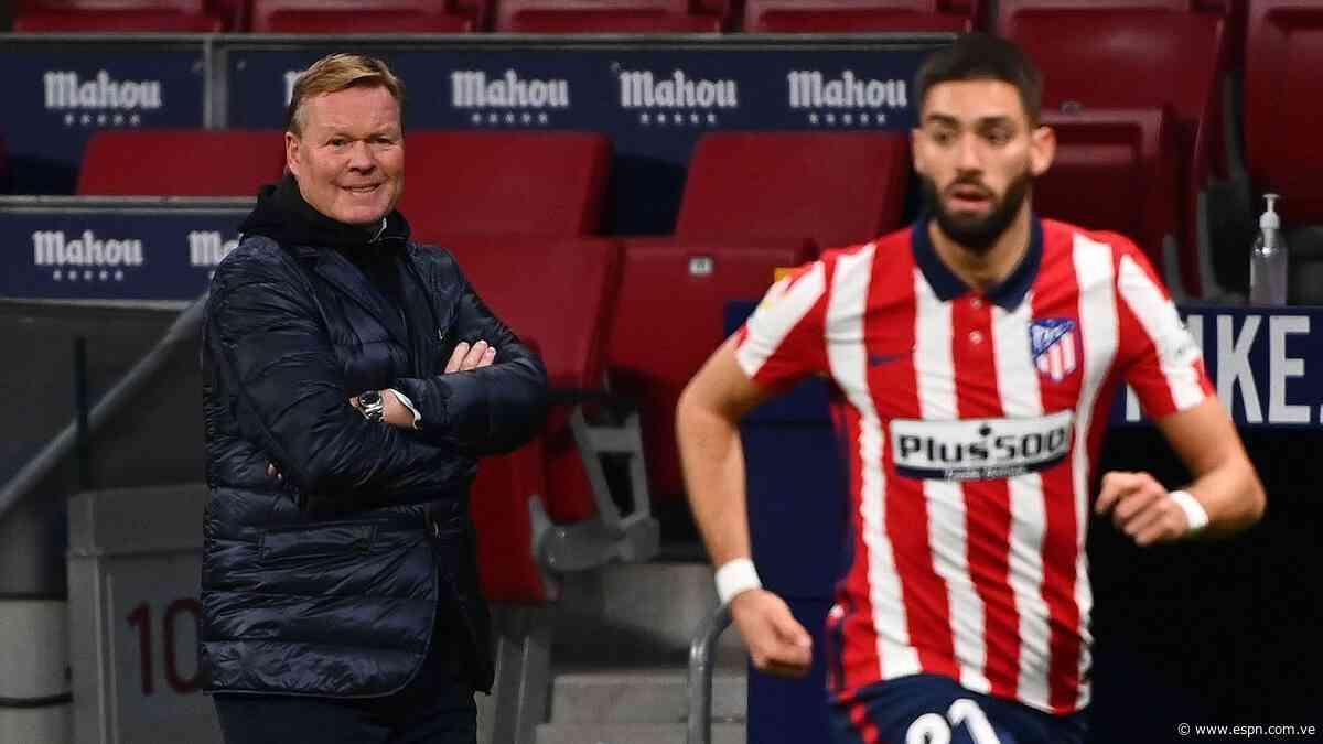 Barcelona-Atlético Madrid puede definir La Liga y el futuro de Koeman y Simeone - ESPN