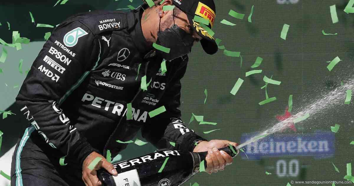 Hamilton y Verstappen retoman su pulseada en Barcelona - San Diego Union-Tribune en Español