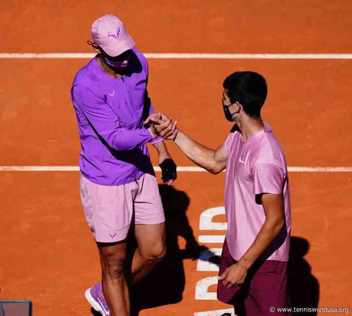 Carlos Alcaraz reflects on playing Rafael Nadal in Madrid