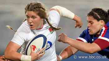 """Women's Six Nations: Poppy Cleall says England """"can't carry on playing professionals v amateurs"""""""