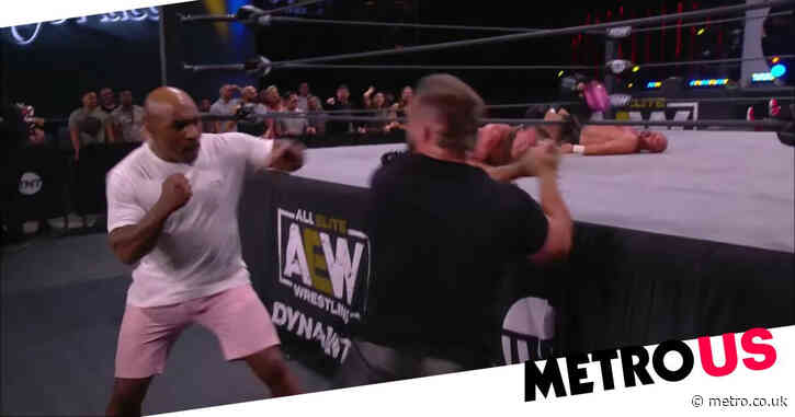 AEW star Cash Wheeler on getting knocked out by Mike Tyson as FTR prepare for Blood and Guts